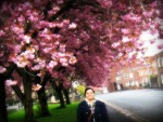 Me & Cherry Blossoms...
